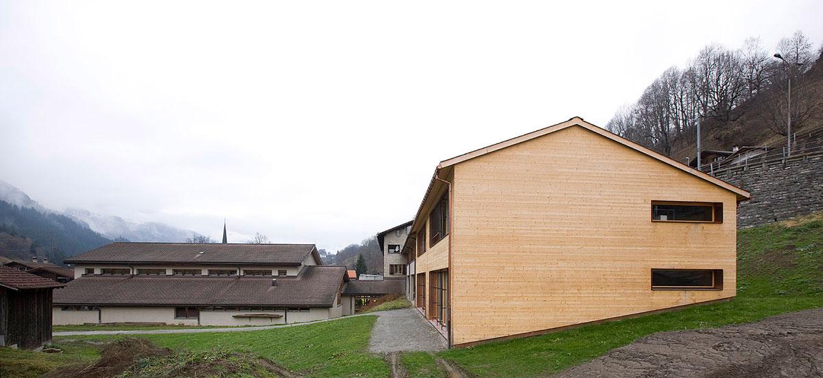 Schulhaus Küblis 2008