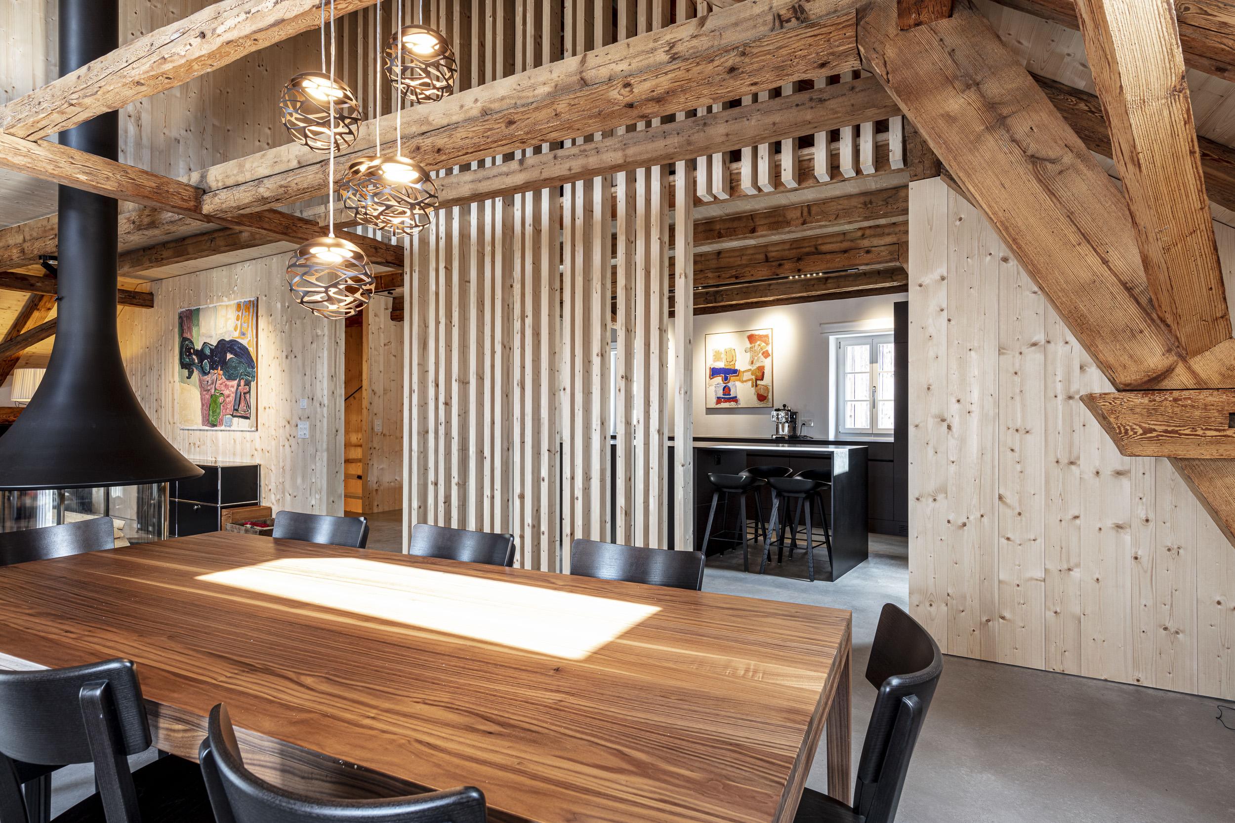 Umbau Haus Jenins 2021